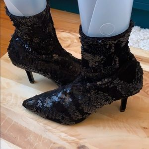 Zara Ankle Boots Size 6.5 NWT